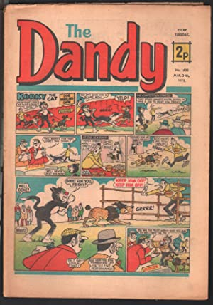 Dandy #1635 1973-D C Thompson-underground comix style-newspaper format-VG