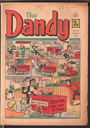 Dandy #1571 1971-D C Thompson-underground comix style-newspaper format-VG