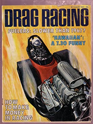 DRAG RACING 8/69-EXHAUST TUNING-FUNNY CAR VG