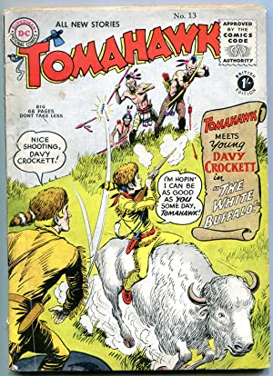 Tomahawk #13- DC British edition- Davy Crockett- American Eagle VG