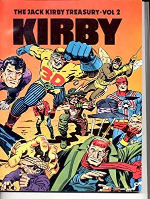 JACK KIRBY TREASURY VOLUME 2-1948-1960 FN