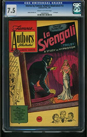 STORIES BY FAMOUS AUTHORS ILLUSTRATED #12 1951- -CGC 7.5 2nd HIGHEST 1060686004