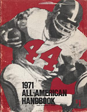 All-American Handbook 1971-NCAA-Ed Marinaro-Johnny Musso-Heisman Trophy-FN