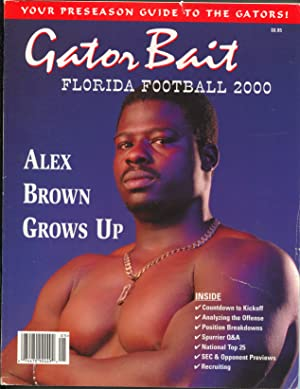 Gator Bait Florida Football Preseason Guide NCAA 2000-player pix & stats-FN