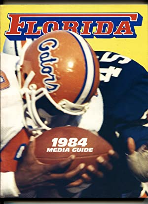 Florida Gators NCAA Football Media Guide 1984-pix-stats