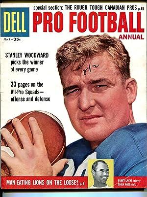 Dell Pro Football Annual #1 1958-Fran Gifford-Bobby