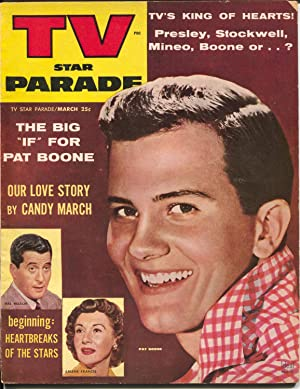 TV Star Parade 3/1957-Ideal-Pat Boone-Buster Crabbe & Cuffy-Sgt Bilko-G