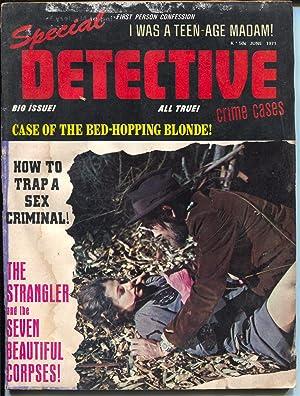 Special Detective Crime Cases 6/1971-Jalart-teenage madam-Mafia revolt-FR