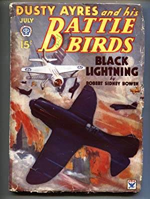 Dusty Ayres and His Battle Birds 7/1934-Popular-First