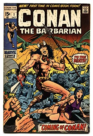CONAN THE BARBARIAN #1 1970-comic book-First issue-MARVEL-BARRY SMITH