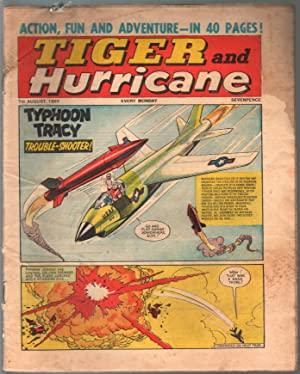 Tiger and Hurricane 8/7/1965-Johnny Cougar-Val Venture-British-G