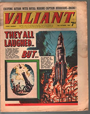 Valiant 8/7/1967-Silver Age British comic book-sci-fi-action-adventure-G