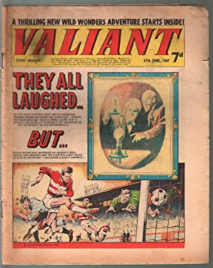 Valiant 6/7/1967-Silver Age British comic book-sci-fi-action-adventure-G