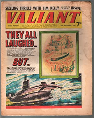 Valiant 9/9/1967-Silver Age British comic book-sci-fi-action-adventure-G