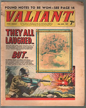 Valiant 6/10/1967-Silver Age British comic book-sci-fi-action-adventure-G