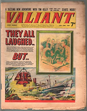 Valiant 6/24/1967-Silver Age British comic book-sci-fi-action-adventure-G