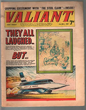 Valiant 7/1/1967-Silver Age British comic book-sci-fi-action-adventure-G