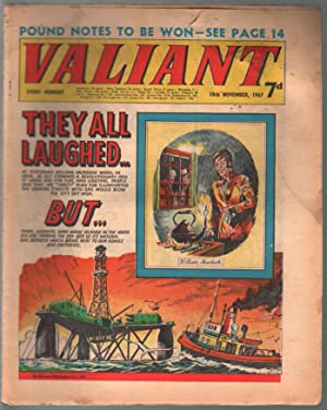 Valiant 11/18/1967-Silver Age British comic book-sci-fi-action-adventure-G