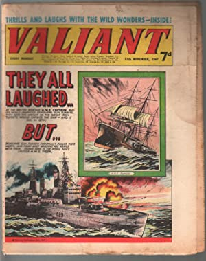 Valiant 11/11/1967-Silver Age British comic book-sci-fi-action-adventure-G