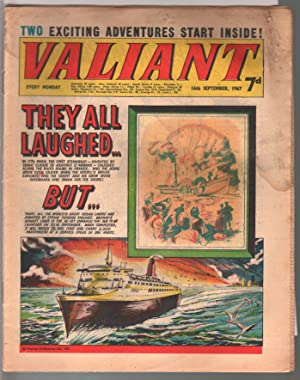 Valiant 9/16/1967-Silver Age British comic book-sci-fi-action-adventure-G