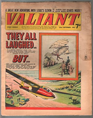 Valiant 9/23/1967-Silver Age British comic book-sci-fi-action-adventure-G