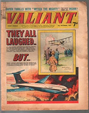 Valiant 12/9/1967-Silver Age British comic book-sci-fi-action-adventure-G