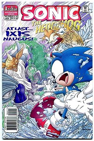SONIC THE HEDGEHOG #64 1998--Archie Comics-Sega