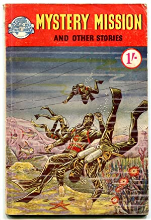 Mystery Mission- World War Picture Stories foreign comic VG