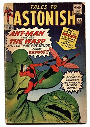 Tales To Astonish #44 1st appearance of WASP Silver-Age Comic Book