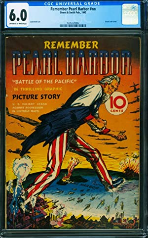 REMEMBER PEARL HARBOR 1942-UNCLE SAM COVER-WWII CGC 6.0-COMIC BOOK-1245720002