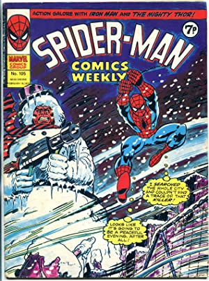 Spider-Man Comics Weekly #105 1975- British comic VG