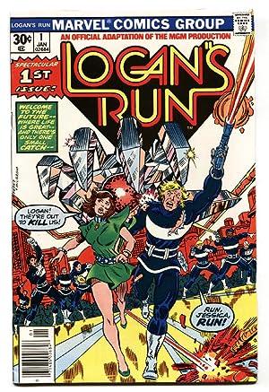 Logan's Run #1-comic book-first issue-high grade-1977 nm