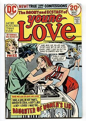 Young Love #106 comic book 1973- Daughter