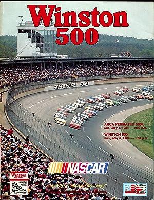 Original Talladega 1999 Diehard 500 Speedway Program- Programs
