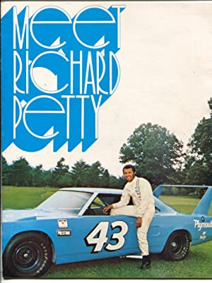 Meet Richard Petty #43-King of NASCAR-Winged Plymouth-pix-stats-VF