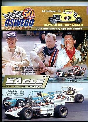 Oswego Speedway Yearbook 2000 50th Anniversary racing
