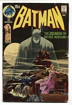 BATMAN #227 1970 comic book-CLASSIC ISSUE DC-BRONZE AGE