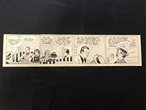 Fred Fox Original Daily Comic Strip Art #14 1936- unpublished?
