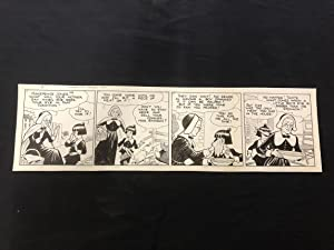 Fred Fox Original Daily Comic Strip Art #8- unpublished?