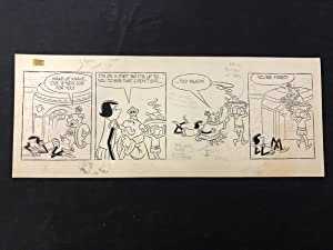 Unpublished Short Ribs Comic Strip Art- Nice