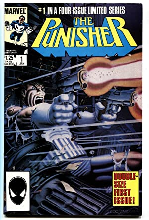 Punisher Limited Series #1 First Issue Marvel comic book VF/NM