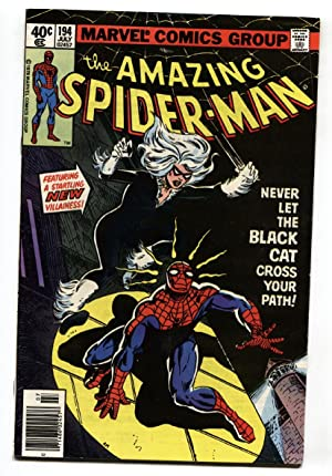 Amazing Spider-Man #194 First Black Cat 1979 Marvel Key Issue.- VF