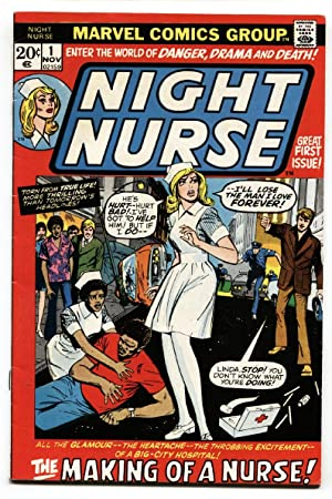 Night Nurse #1 comic book 1973 - Marvel Bronze Age- FN+