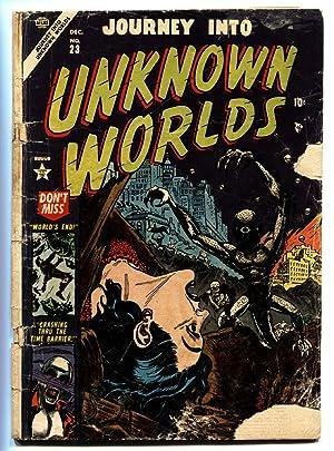 Journey into Unknown Worlds #23 1953- Atlas Horror- Vampire- FR/G
