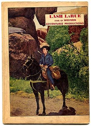 Lash Larue Western 1 1949 First Issue Fawcett Golden Age Vg