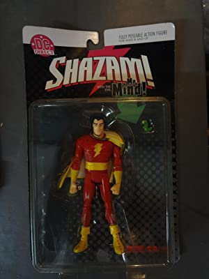 DC DIRECT - SHAZAM FULLY POSEABLE ACTION FIGURE-MIB