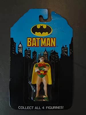 APPLAUSE INC BATMAN-ROBIN FIGURE-MIB-1989