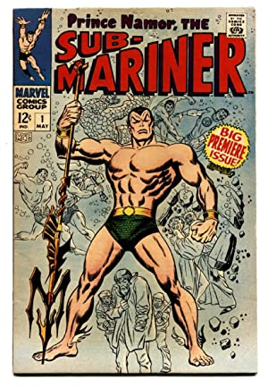 SUB-MARINER #1-1967-Marvel first issue-nice copy-vf-