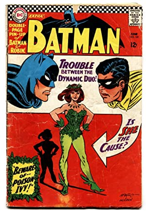 BATMAN #181 1st appearance of POISON IVY-1966-DC comic book