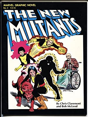 MARVEL GRAPHIC NOVEL #4-1982-FIRST NEW MUTANTS - 1st printing